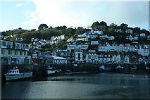 SX2553 : East Looe by Derek Bennett