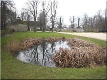 SU1070 : Pond at Avebury Manor by Rod Allday