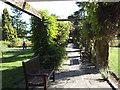 TQ4775 : Pergola, Danson Park by Stephen Craven