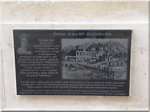 SZ0890 : Bournemouth: Diamond Jubilee Plaque (6) by Chris Downer