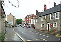 ST7748 : The A362 and the former Ship Inn by Humphrey Bolton