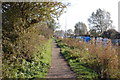 TL8607 : Towpath, Chelmer and Blackwater Navigation by Trevor Harris