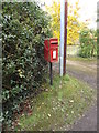 TM4671 : St.Helena Postbox by Adrian Cable