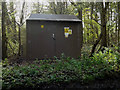TM4576 : Electricity Sub-Station off the A1095 Halesworth Road by Adrian Cable
