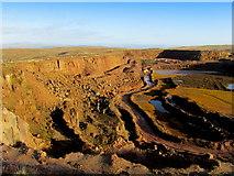 SD7148 : Waddington Fell Quarry by Chris Heaton