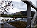 SH7866 : View to the south from Dolgarrog bridge by Richard Hoare