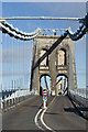 SH5571 : Menai Suspension Bridge by Ian Capper