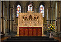 TQ7468 : Altar and reredos, Rochester cathedral by Julian P Guffogg