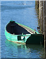 TA0588 : Small green boat by Pauline E
