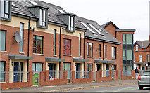 J3573 : New houses, Ormeau Embankment, Belfast (1) by Albert Bridge