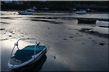 SX2553 : Boats on the estuary in Looe by Derek Bennett