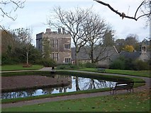 SX4268 : Cotehele House seen from the upper gardens by David Smith