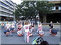 TQ3180 : Steel band on Upper Thames Street by Stephen Craven
