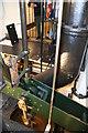 TQ1878 : Kew Bridge Steam Museum - Bull engine workings by Chris Allen