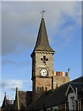 NT4899 : The Town Clock, High Street by kim traynor