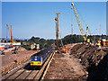 J3876 : Renewing the Tillysburn bridge - 2001 by The Carlisle Kid