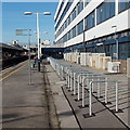 SU4112 : Cycle racks at Southampton Central railway station by Jaggery