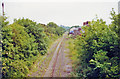 SE1190 : Leyburn station (site/remains), 2000 by Ben Brooksbank
