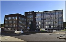 SK3487 : HSBC Offices (formerly BISRA), Hoyle Street, Shalesmoor, Sheffield by Terry Robinson
