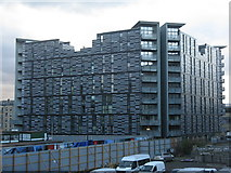 NT2572 : Apartment block at Simpson's Loan by M J Richardson