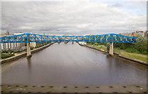 NZ2463 : Queen Elizabeth II Bridge over the Tyne by David P Howard