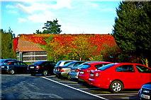 L9984 : Westport - New(port) Road - Hotel Westport - Parking Area near Entrance by Joseph Mischyshyn