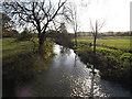 TM2360 : River Deben at Brandeston Bridge by Adrian Cable