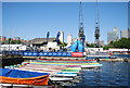TQ3779 : Docklands Sailing and Watersport Centre, Millwall Docks by N Chadwick