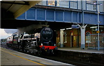 TQ2775 : No.70000 'Britannia' at Clapham Junction by Peter Trimming
