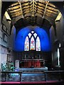 NZ2464 : St. Andrew's Church, Newgate Street, NE1 - altar and east window by Mike Quinn