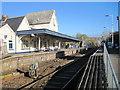 ST8026 : Gillingham railway station, Dorset by Nigel Thompson
