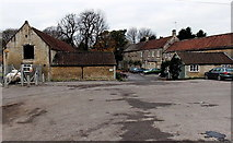 ST7681 : East side of the Cross Hands Hotel in Old Sodbury by Jaggery