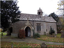 ST8080 : Entrance to St Mary's church, Acton Turville by Jaggery