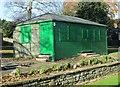 SE1646 : Bowling Green Pavilion - Grange Park - Grange Road by Betty Longbottom