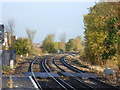 TQ4676 : View from the end of the platform at Welling station by Marathon