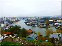 ST5772 : SS Great Britain from viewpoint at Southernhay Avenue by Ruth Sharville