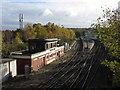 TQ1750 : Dorking signal box and station by Gareth James