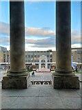 SD7109 : Victoria Square and The Cenotaph, Bolton by David Dixon