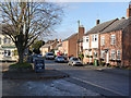 SK6412 : Queniborough, Main Street and former market place by Alan Murray-Rust
