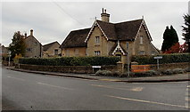 ST8080 : The Old School and Old School House, Acton Turville by Jaggery