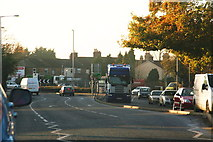 TF3243 : John Adams Way (A16) approaching the Liquorpond Street Roundabout by Chris