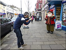 H4572 : Worth a picture! - Santa appears in Omagh by Kenneth  Allen