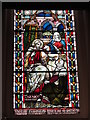 NZ2464 : The Church of St. Thomas The Martyr, Barras Bridge / St. Mary's Place, NE1 - stained glass window by Mike Quinn