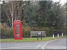 ST6601 : Cerne Abbas: the telephone box by Chris Downer