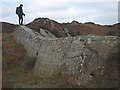 SD3090 : Silurian strata, Bethecar Moor by Karl and Ali