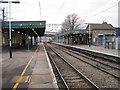 TQ4882 : Dagenham Dock railway station, Greater London by Nigel Thompson