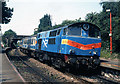 J4881 : Locomotive 101 at Bangor West - 1990 (2) by The Carlisle Kid