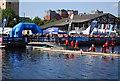 TQ3779 : Great Swim Start by N Chadwick