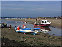 SS2006 : Boats & the mouth of the R Neet, Bude by Colin Park