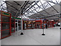 SU6400 : Shops in Portsmouth & Southsea railway station  by Jaggery